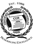 Certified Graduate Remodeler - which means lots education in order to be and stay a knowledgable builder