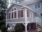 Exterior of Sunroom Addition